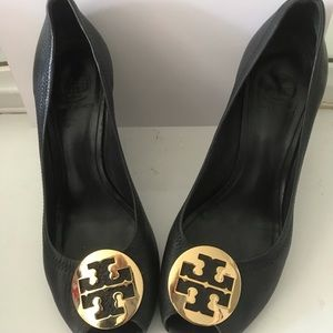Tory Burch open toed wedge